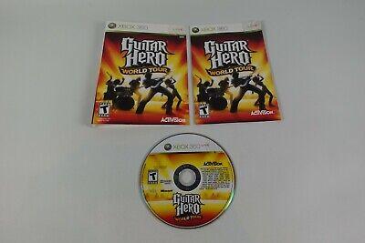 Guitar Hero: World Tour (Microsoft Xbox 360, 2008 ...
