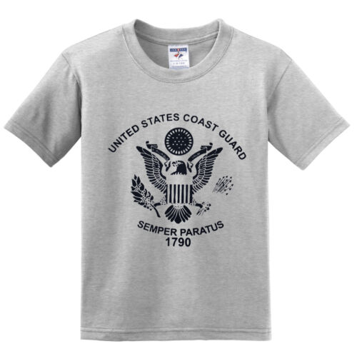 US COAST GUARD Semper Paratus 1790 Military T-shirts NEW