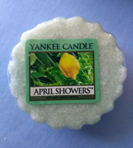 April Showers ** ** Yankee Candle Wax Tart