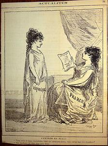 CHAM-Lithographie-Le-Charivari-Caricature-XIXe-Chambre-des-Deputes-Wallon-Buffet