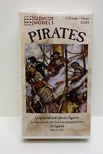 Glencoe Models 02204 - Pirates                           1:32 Plastic Figures