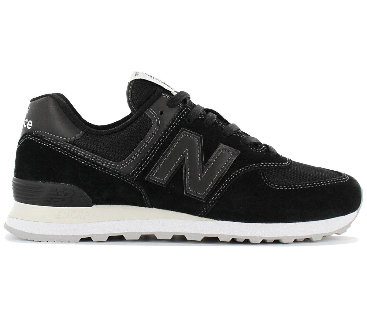 New Balance Classics Schuhe 574 Herren Sneaker ML574ETA Schuhe Classics Turnschuhe Schwarz NEU 0dd902