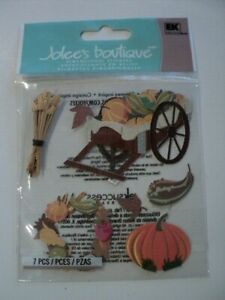 Jolees A Touch Of Jolees Dimensional Stickers Fall Harvest