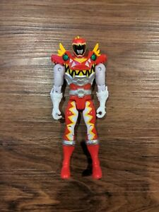BAN DAI Power Rangers Dino T-Rex Super Charge Red Ranger Figure Toy MMPR