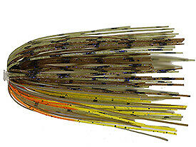 Dirty Jigs Premium Punchin/' Skirt w//Solid Tin Core Choose Color Pattern
