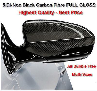 Bubble Free 4D Carbon Fibre Ultra Glossy Vinyl Wrap Stunning Effect