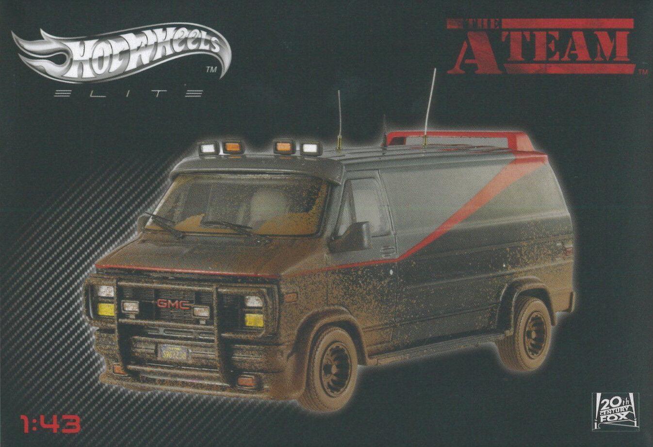 Van Agence Tous Risques/A-Team - Hot Wheels Elite 1/43