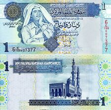 LIBYA ½ Dinar Banknote World Paper Money UNC Currency Pick p68b 2004 Bill Note