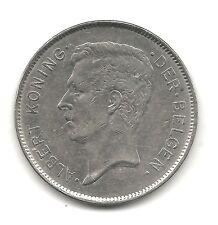 Belgium 20 francs 1932 KM 102 VF+ Dutch Coppernickel coin circulated