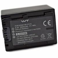 Wt-npfv70 Battery For Sony Sx44, Sx45, Sx63, Sx65, Sx83, Sx85, Fdr-ax100, Cx110,