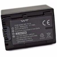 Wt-npfv70 Nixxell Battery For Sony Dcr-sr15,sr21,sr68,sr88,sx15,sx21,sx44,sx45,