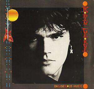 ROBIN-GEORGE-dangerous-music-BRON-554-A1-B1-1st-press-uk-bronze-1985-LP-PS-EX-EX
