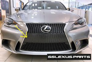 lexus is250 is350 2014 2016 oem f sport front lower radiator grill 52112 53070 ebay. Black Bedroom Furniture Sets. Home Design Ideas