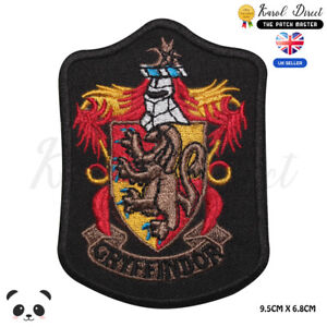 Harry-Potter-Gryffindor-Embroidered-Iron-On-Sew-On-Patch-Badge-For-Clothes
