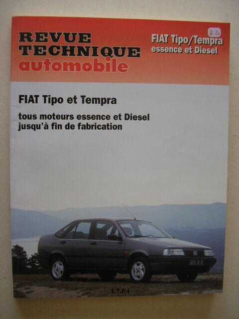 Revue technique automobile RTA  NEUVE  FIAT  TIPO / Tempa  esence et diesel