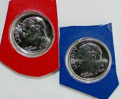 2009-2019  P /& D  Dime Set  BU Buy 3 sets of these dimes get 1 set Free!