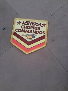 Activision-Chopper-Command-Patch-AUTHENTIC-FREE-SHIPPING