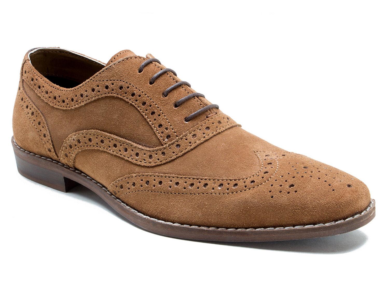 ROT Tape Thorpe Hellbraun Herren Halbschuh Halbschuh Halbschuh aus Wildleder Förmliche Schuhe 229b3f