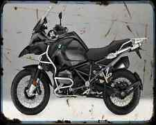 Bmw R1200Gs Adventure Triple Black 16 4 A4 Photo Print Motorbike Vintage Aged