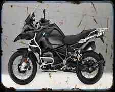 BMW R1200Gs Adventure Triple Negro 16 4 A4 Foto Impresión moto antigua añejada De