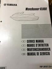 GENUINE YAMAHA WAVERUNNER XL800 MANUAL IN FOUR LANGUAGES FOP-28197-ZA-C1