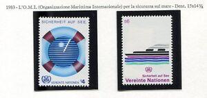 19326-UNITED-NATIONS-Vienna-1983-MNH-Safety-at-Sea