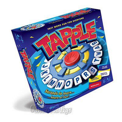 Tapple Wheel Fast Paced Word Game USAopoly TL097 Board Game