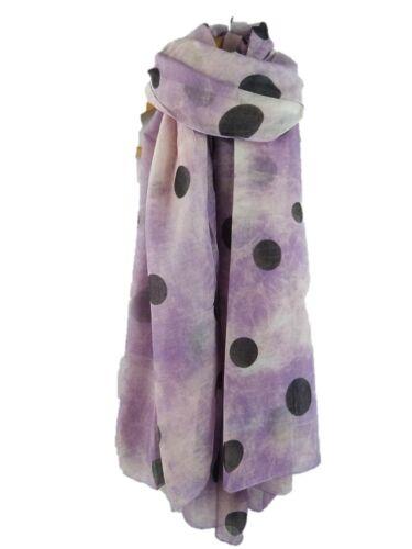 Brand NewDesign POLKA DOT Scarf Spotty Print  For Ladies Women Girls Ideal Gift