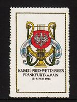48025/ Reklamemarke - Kaiser-Preis-Wettsingen 1913 - Frankfurt am Main