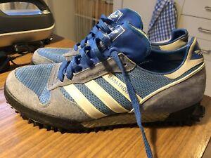 Details zu Adidas Vintage Marathon TR Made In West Germany UK 9 EUR 43-44 RARE 27,5cm