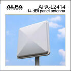 Alfa APA-L2414 14 dBi gain outdoor 2.4 GHz WiFi directional panel antenna +mount