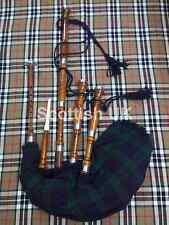 Grande scozzese Highland Cornamusa ROSE LEGNO SET COMPLETO / GAITA / DUDELSACK / cornamusa