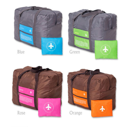 LK/_ Travel Camping Lightweight Large Capacity Portable Luggage Bag Pouch Serap