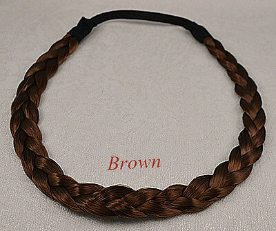 "*w* Alice Hair  HeadBand *w*0.5"" wide  Synthetic Wig  Hair Braided Headband"