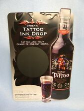 2006 CAPTAIN MORGAN TATTOO RUM PIRATE KEG SWORD TIN SIGN PUERTO RICO BAR.COM