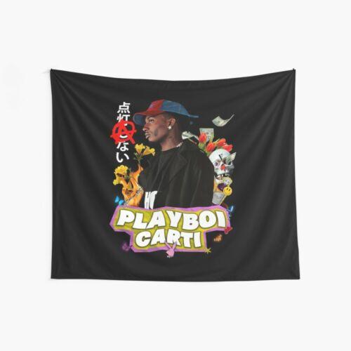 Playboi Carti Wall Tapestry Playboi Carti Rap Wall Tapestries