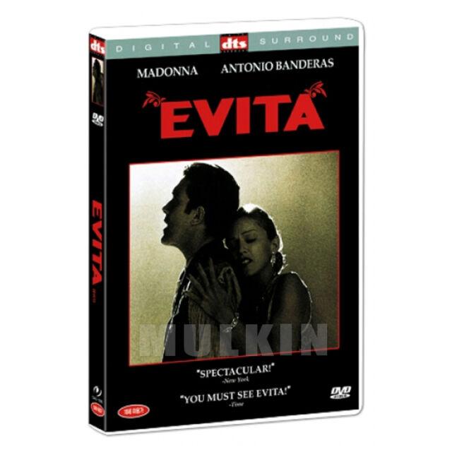 EVITA (1996) DVD - Madonna, Antonio Banderas (*New *Sealed *All Region)