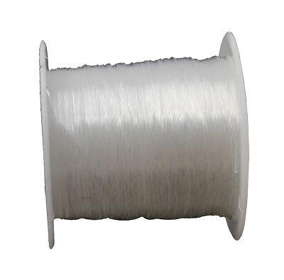 Filo in silicone gioielli filo 0,4mm TRASPARENTE 40 metri ...