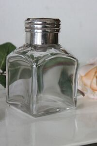 ANTICA BOCCETTA PROFUMO IN VETRO E ARGENTO ANTIQUE STERLING SILVER SHENT BOTTLE cBv4ekN6-08060645-733391491