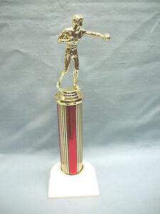BOXER trophy red column white base