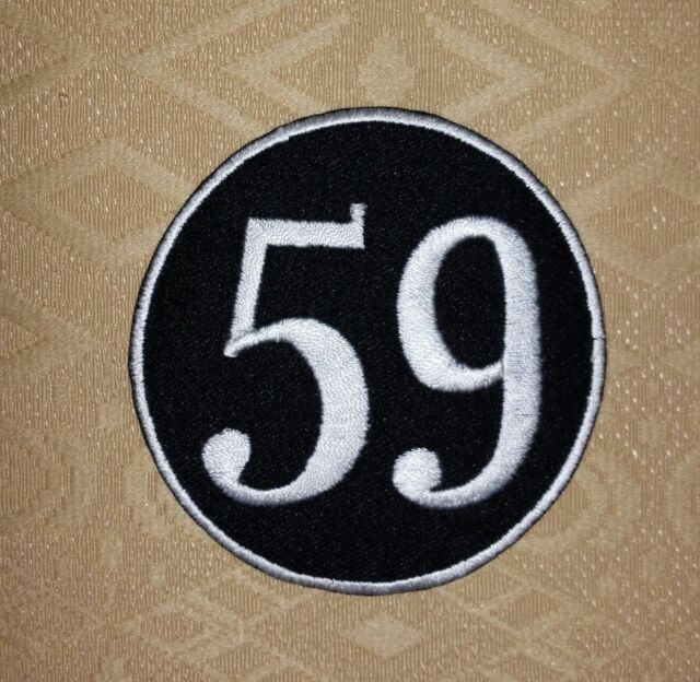 59 Club Rockers Cafe Racer Ton Up Biker Iron Sew On Embroidered Patch