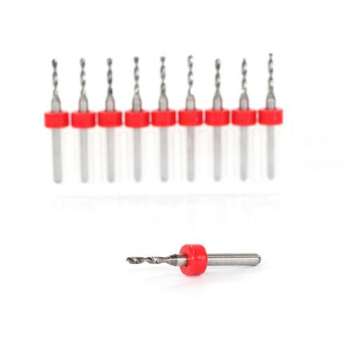 10 Pcs 1.8mm Import Carbide drill bit PCB Micro woodworking mini machine