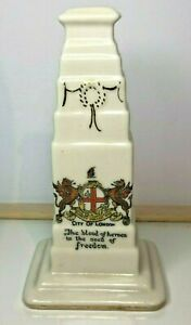 WW1-Coronet-ware-crested-china-Cenotaph-The-City-of-London-War-Memorial