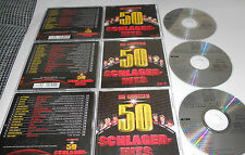 3 CD Die 50 Grossen Schlagerhits Freddy Quinn Bernhard Brink Die Flippers .10/15