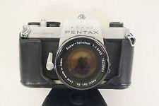 Vintage Asahi Pentax Spotmatic SP 35mm SLR Film Camera Super-Takumar 1:1.8 55mm
