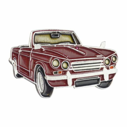 Triumph Vitesse Cut Out Lapel Pin ZN148/_Red