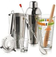 Cocktail Mixing Set, Kitchen Equipment Dining Bartending Gifts Tools on sale