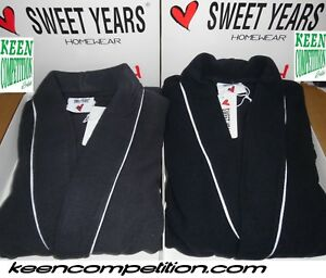 ★ SWEET YEARS Vestaglia da camera uomo invernale incrociata in pile con tasche