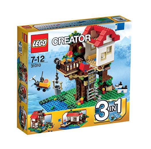 Lego ® Creator 31010 BAUMHAUS HÜTTE AM SEE BAUERNHOF-SCHEUNE Neu Neu Neu OVP 494a68