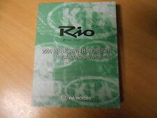 Werkstatthandbuch Ergänzung KIA Rio (1.5L Diesel) Modelljahr 2006